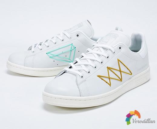 童心未泯:ADIDAS STAN SMITH PLAY联名鞋款