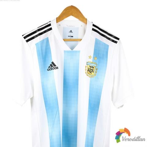 阿根廷国家队2018主场球员版球衣深度解读