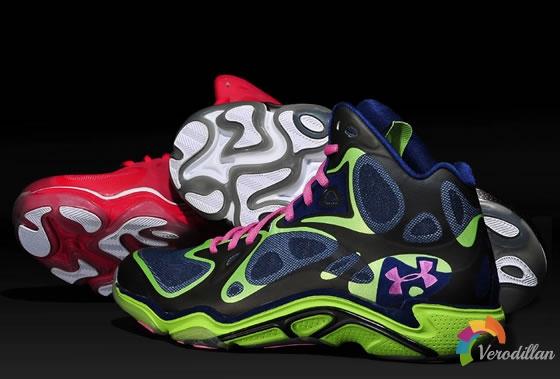 开创先锋:Under Armour Anatomix Spawn战靴
