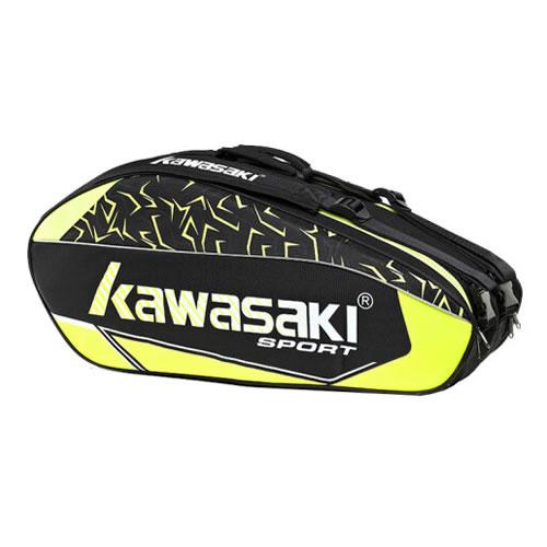 川崎KBB-8672羽毛球拍双肩包图1高清图片