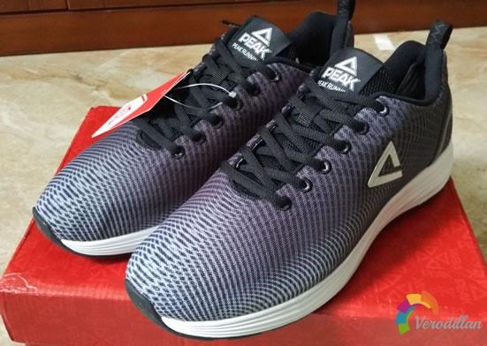 试穿测评:匹克DH720501跑鞋上脚体验