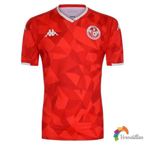 Kappa推出突尼斯国家队2019主场球衣