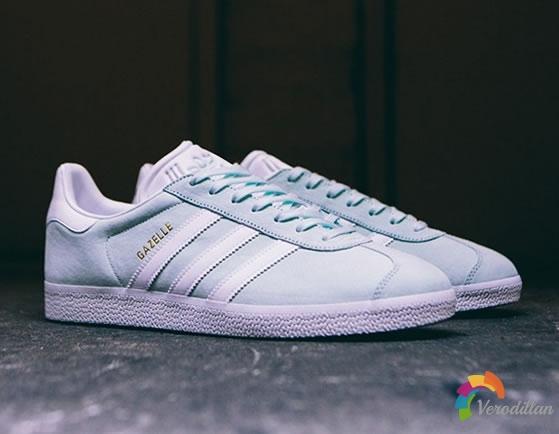 adidas推出Gazelle全新Ice Mint配色
