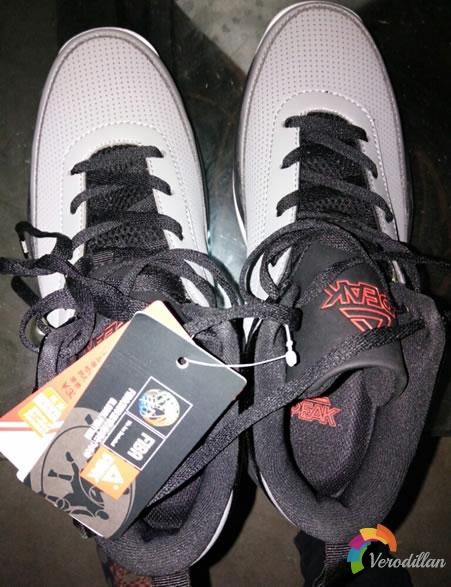 试穿测评:匹克DA530091男子篮球鞋上脚体验图1