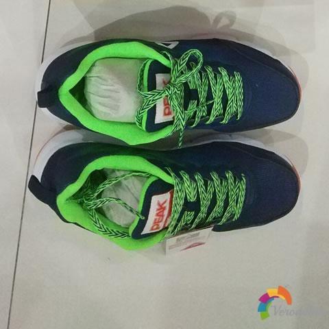 试穿测评:匹克DH620471跑鞋上脚体验