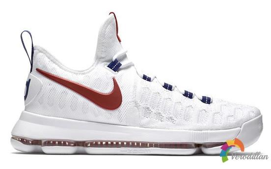 Nike全新KD 9 USA奥运会专属配色发布