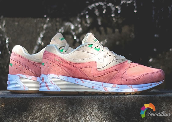 Saucony Grid 8000推出全新Lobster配色