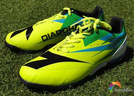 迪亚多纳DD-NA 2足球鞋试穿及实战测评