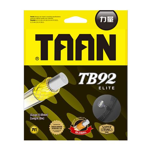 泰昂TB92羽毛球拍线