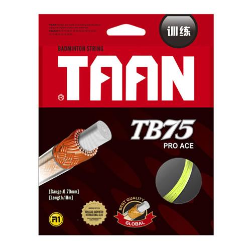 泰昂TB75羽毛球拍线