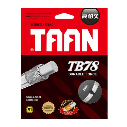 泰昂TB78羽毛球拍线