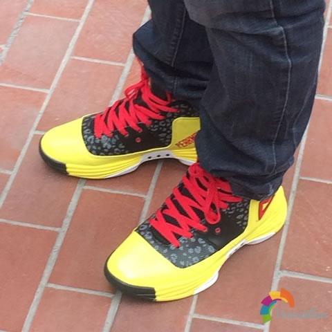 试穿测评:匹克E44271A篮球鞋上脚体验图3