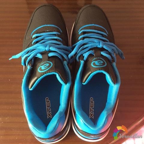 试穿测评:特步984319119583跑鞋上脚体验