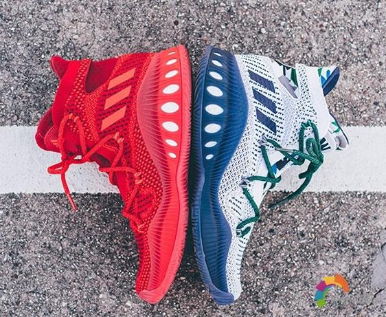 众星加持:adidas推出Crazy Explosive篮球鞋
