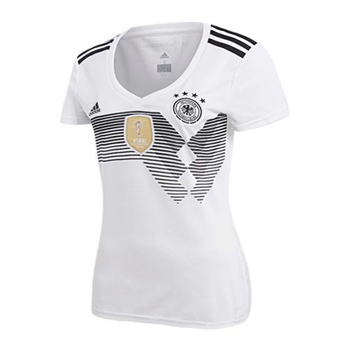 阿迪达斯BQ8396德国国家队女子足球短袖
