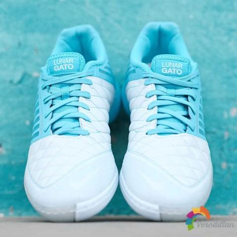 球场小清新:Nike Lunar Gato II蓝银配色