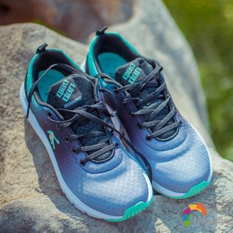 试穿测评:乔丹XM2660253透气跑鞋上脚体验