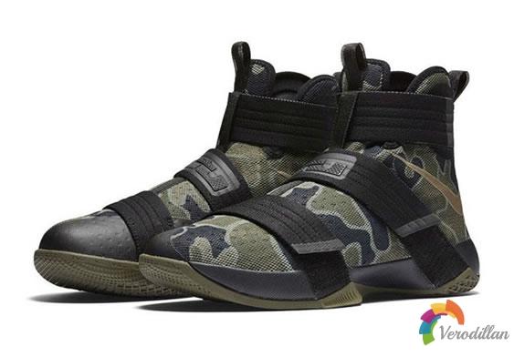 Nike LeBron Soldier 10 Camo全新迷彩配色发布