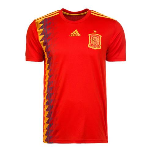阿迪达斯CX5355西班牙国家队主场比赛服