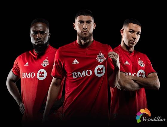 多伦多FC 2019/20赛季主场球衣,延续火红色传统