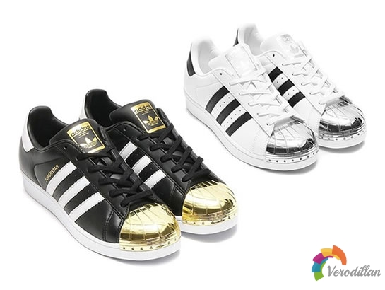 adidas Superstar金属贝壳头再次回归