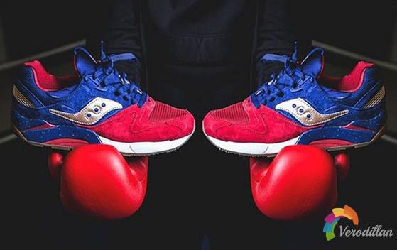 Saucony Grid 9000 Boxing配色,以拳击为灵感