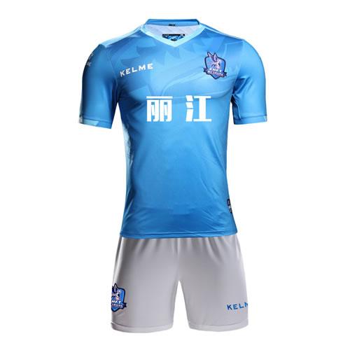 卡尔美KMC163014丽江飞虎足球服套装