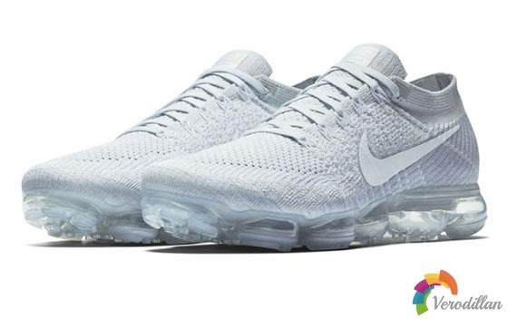 Nike Air VaporMax新款Pure Platinum配色发布