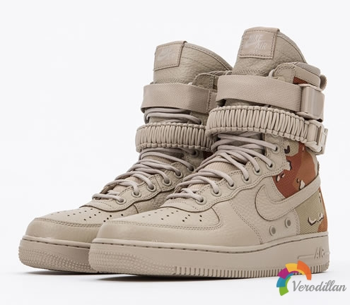Nike Special Field Air Force 1,沙漠迷彩上身