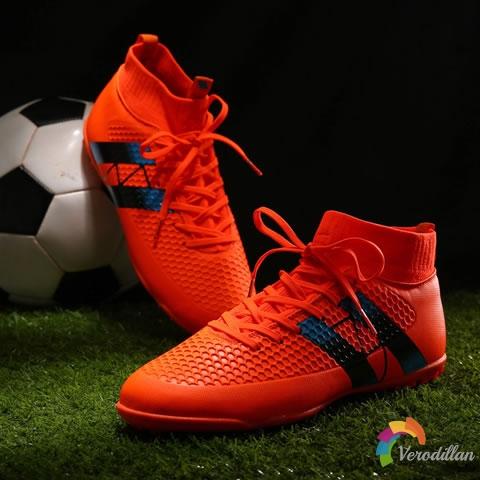 试穿测评:迹速151102高帮足球鞋上脚体验