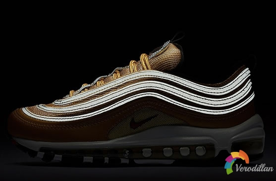Nike Air Max 97 Metallic Gold配色,打造奢华质感