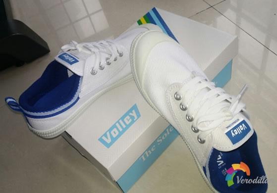 动态测评:VOLLEY V00105帆布鞋试用体验