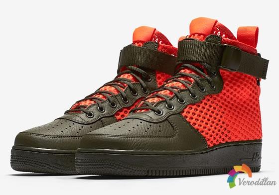 舒适有型:Nike SF-AF1 Mid夏日新作