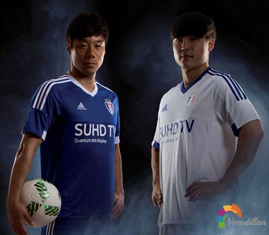 水原三星蓝翼发布2016赛季主客场球衣