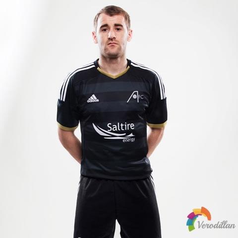 阿迪达斯发布2014/15赛季阿伯丁客场球衣