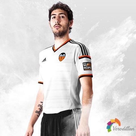 西班牙巴伦西亚发布2014/15赛季主场球衣