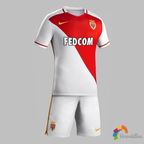 [球衣近赏]摩纳哥2015/16赛季主场球衣