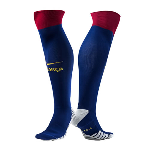 耐克SX7430巴萨足球训练袜