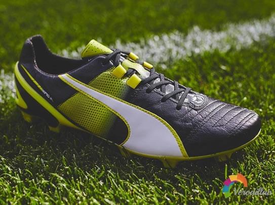 彪马全新黑绿配色King II SL足球鞋发布