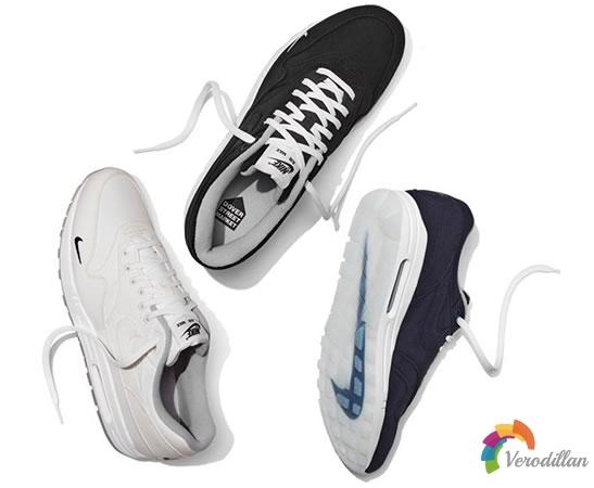 Nike Air Max 1 Ventile联名系列低调三色齐发
