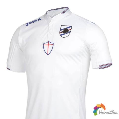 Joma发布桑普多利亚2015/16赛季球衣