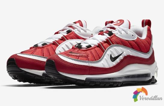 人气新款:Nike Air Max 98发布两款新配色