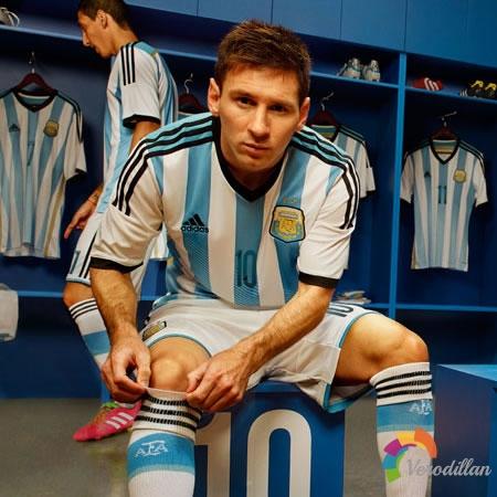 [球衣近赏]阿根廷国家队2014世界杯主场球衣