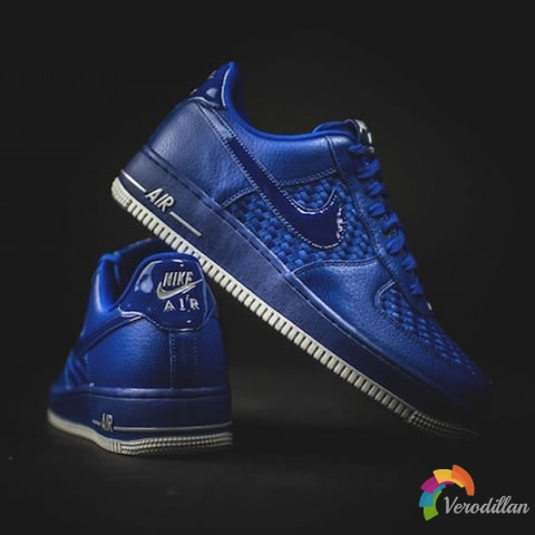 NIKE AIR FORCE 1 07 LV8 WOVEN CONCORD设计鉴赏