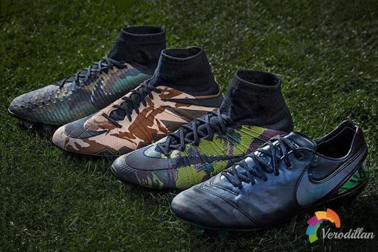 军事风格盛行:NIKE发布CAMO限量迷彩足球鞋系列