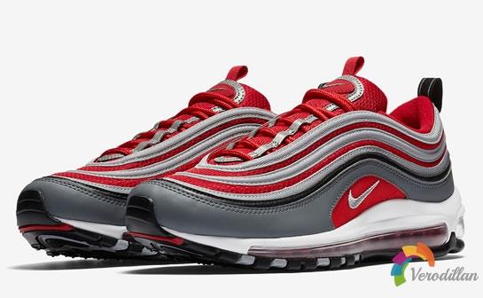 运动感十足:Nike Air Max 97推出红灰配色