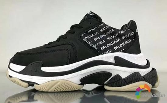BALENCIAGA新款Triple S,老爹鞋更新到第三代