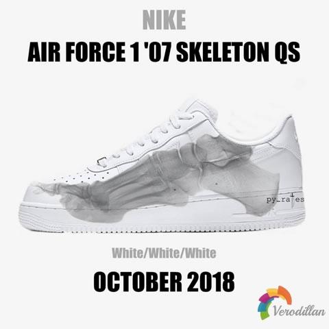 Nike Air Force 1 07 Skeleton QS谍照曝光