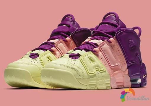 甜美一夏:Nike Air More Uptempo甜美配色发布