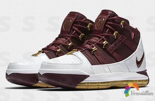 Nike Zoom LeBron 3 CTK PE发布
